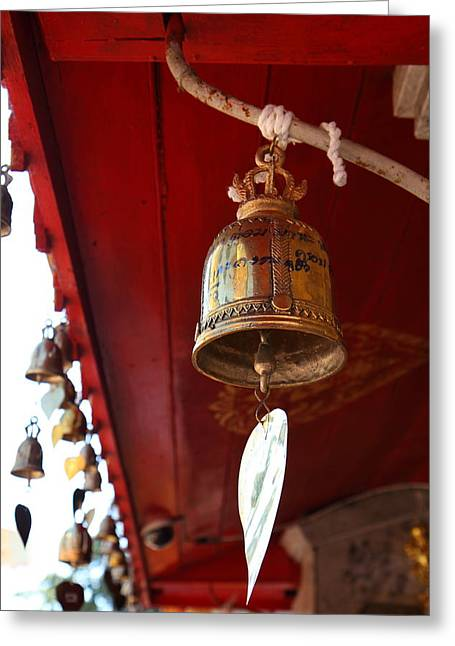 Wat Phrathat Doi Suthep - Chiang Mai Thailand - 011328 Greeting Card by DC Photographer