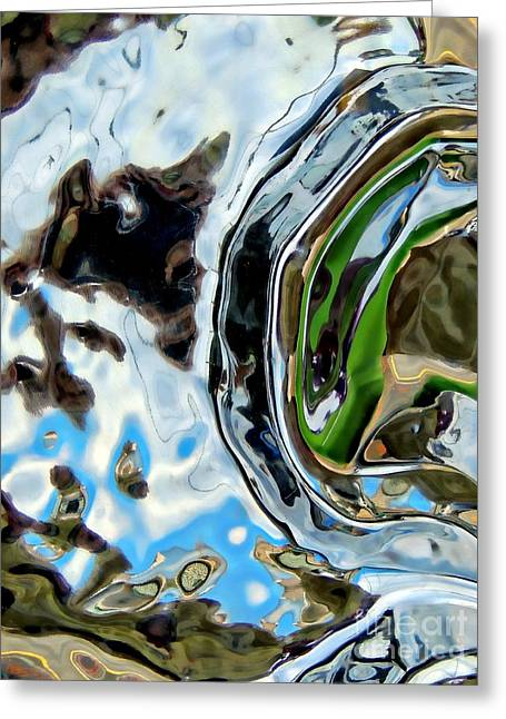Water Captivates Greeting Card by Marcia Lee Jones