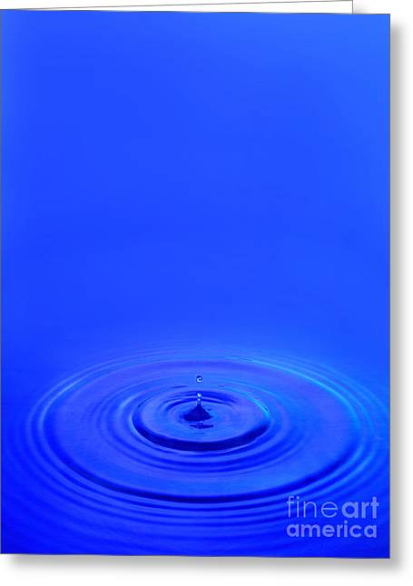 Water Drop Greeting Card by Jon Neidert