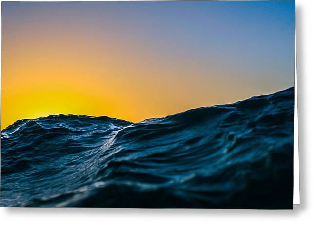 Water Element Greeting Card by Angus Gunn