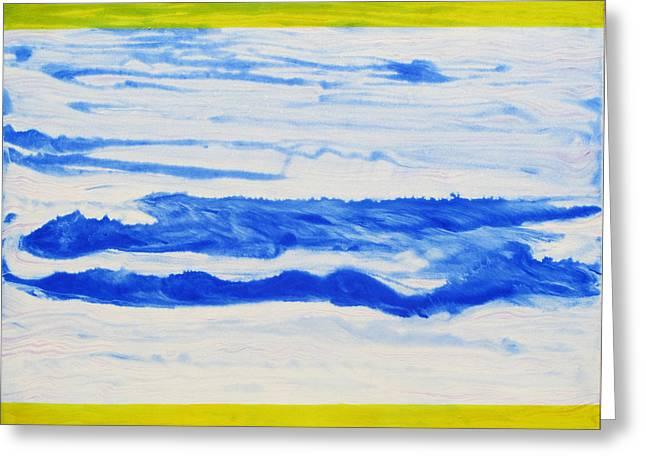 Water Flow Greeting Card by Tom Hefko