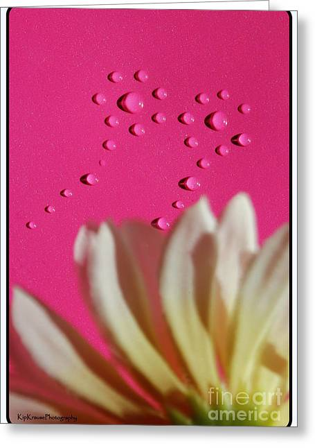 Water Flowers Greeting Card by Kip Krause