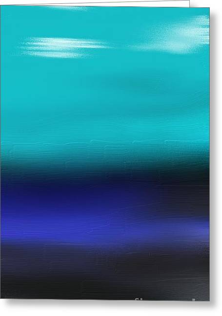 Water Meets Sky Greeting Card by Jerod Roberts