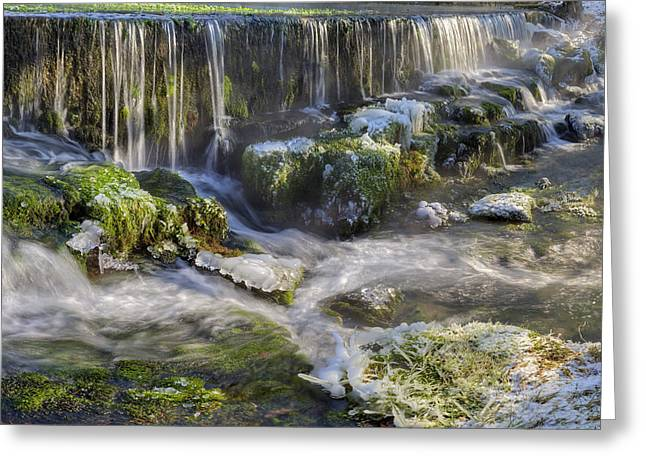 Water States Greeting Card by Patrick Jacquet