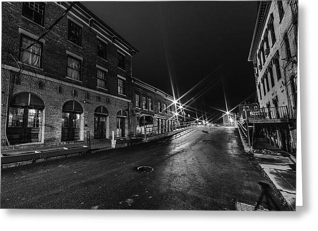 Water Street Greeting Card by Everet Regal