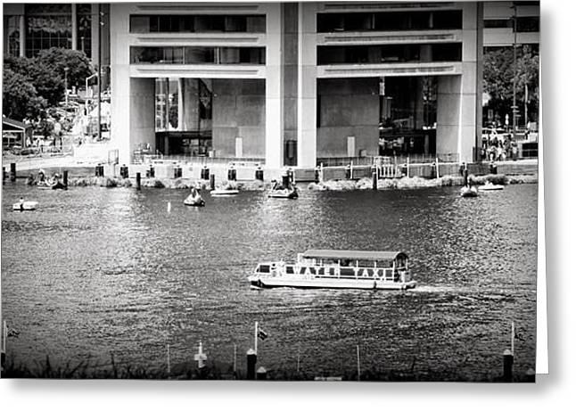 Water Taxi Greeting Card by Toni Martsoukos