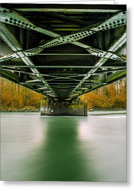 Water Under The Bridge 2 Greeting Card