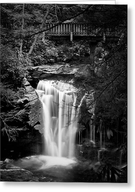 Greeting Card featuring the photograph Water Under The Bridge by Tyson and Kathy Smith