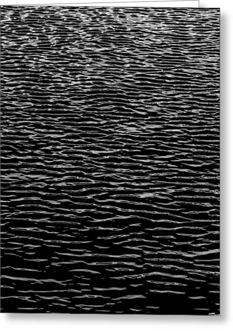 Water Wave Texture Greeting Card