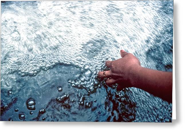 Greeting Card featuring the photograph Water Within Reach by Kellice Swaggerty