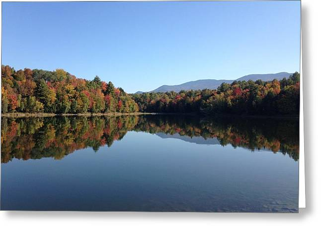 Waterbury Vermont Greeting Card