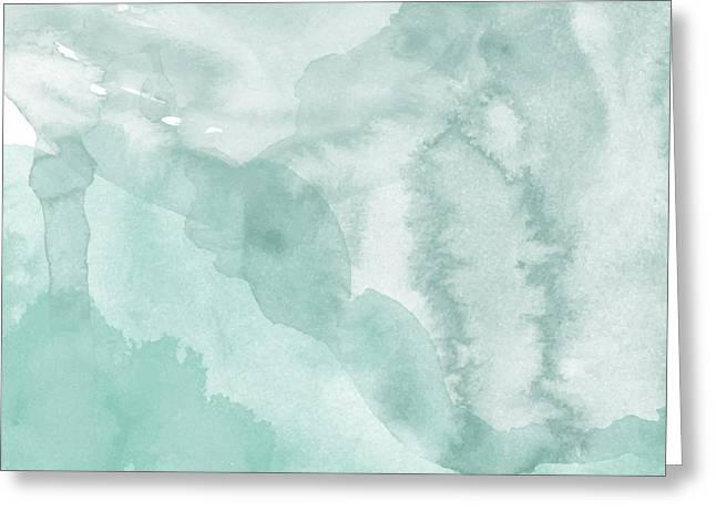 Watercolor Background. Digital Art Greeting Card