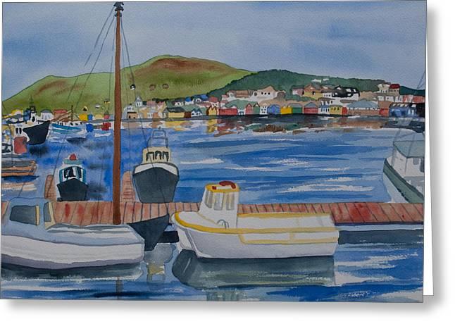 Watercolor - Dingle Ireland Greeting Card