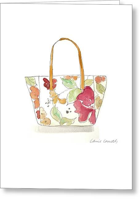 Watercolor Handbags I Greeting Card