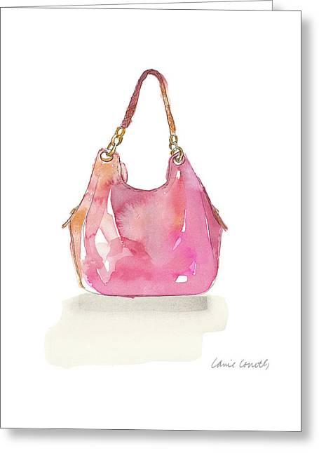 Watercolor Handbags II Greeting Card