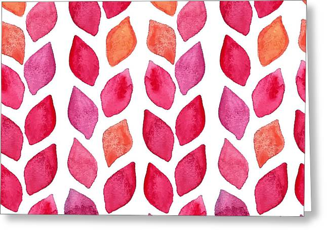 Watercolor Seamless Pattern. Colorful Greeting Card