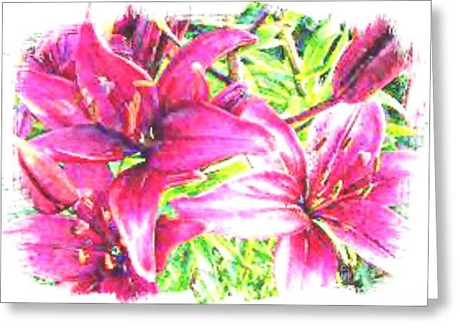 Watercolor Greeting Card