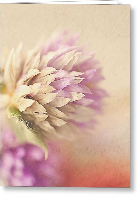 Watercolor Whisper Greeting Card by Faith Simbeck
