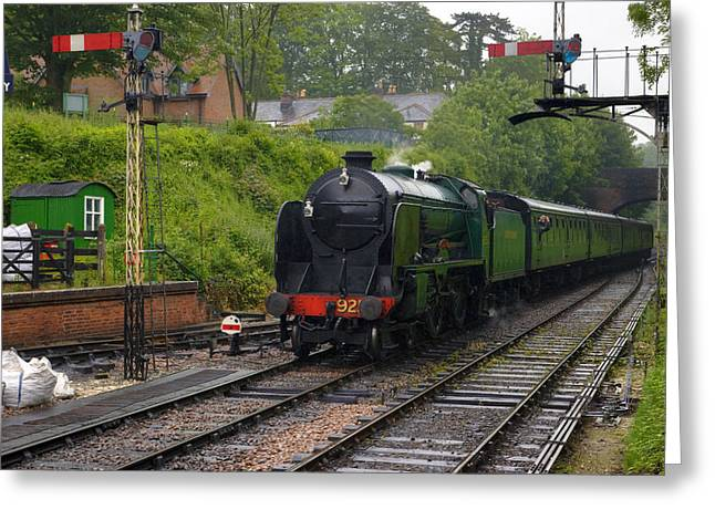 Watercress Line Alresford Greeting Card