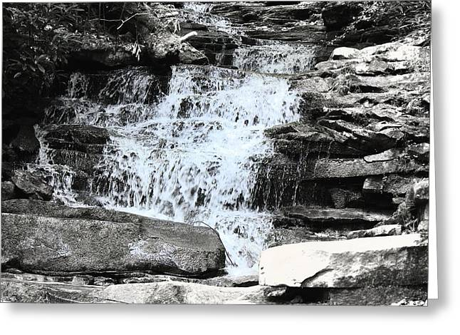 Waterfall 3 Greeting Card