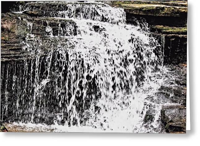Waterfall 4 Greeting Card