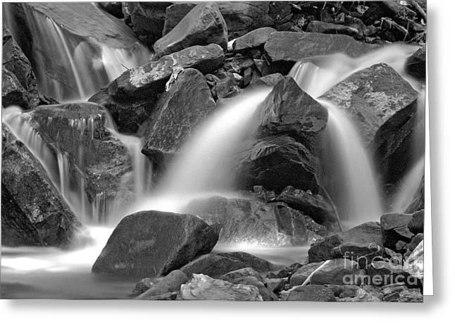 Waterfall Greeting Card by James Taylor