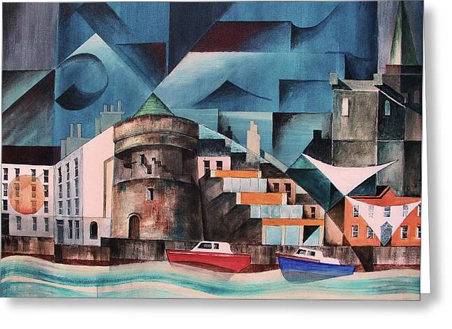 Waterford Quays Greeting Card