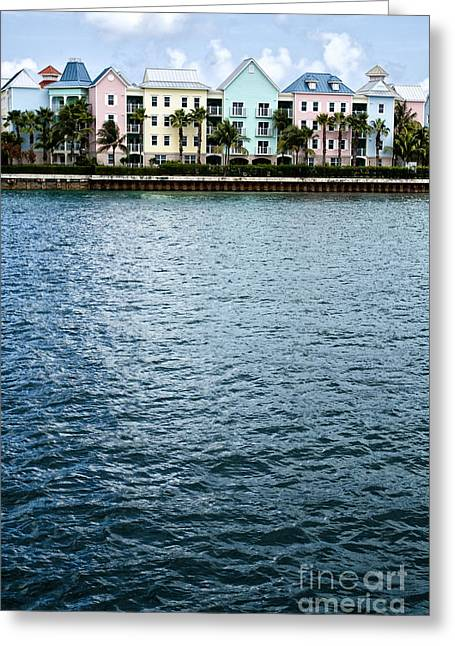 Waterfront Colors Greeting Card