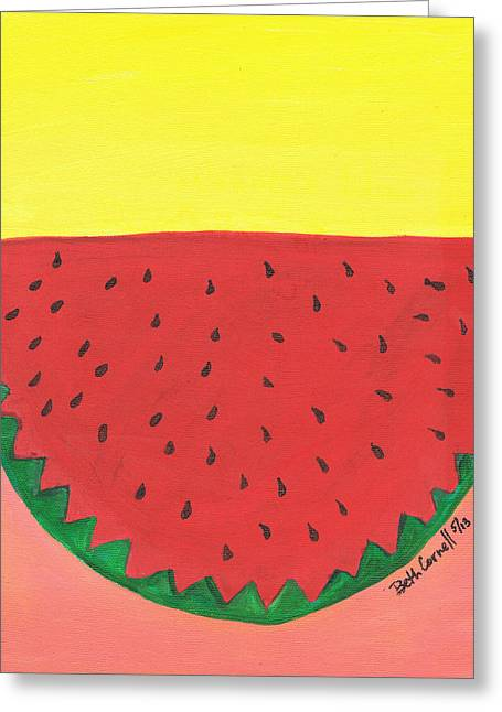 Watermelon 1 Greeting Card