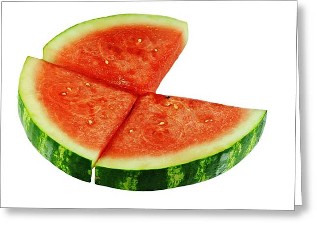 Watermelon Slices Greeting Card