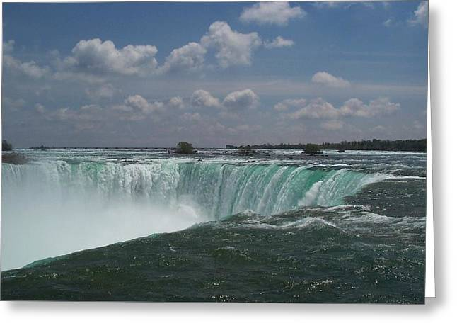 Greeting Card featuring the photograph Water's Edge by Barbara McDevitt