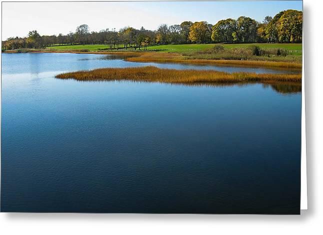 Water's Memories Greeting Card by Glenn DiPaola