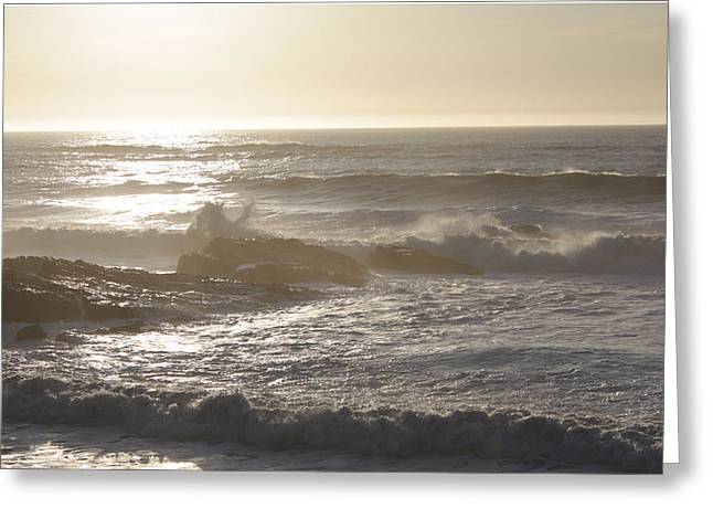 Waters Under Heaven  Greeting Card