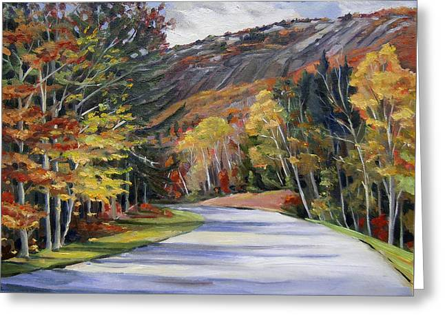 Waterville Road New Hampshire Greeting Card