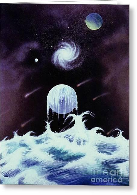 Waterworld II Greeting Card by David Neace