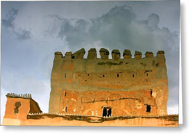 Watery Alhambra Greeting Card