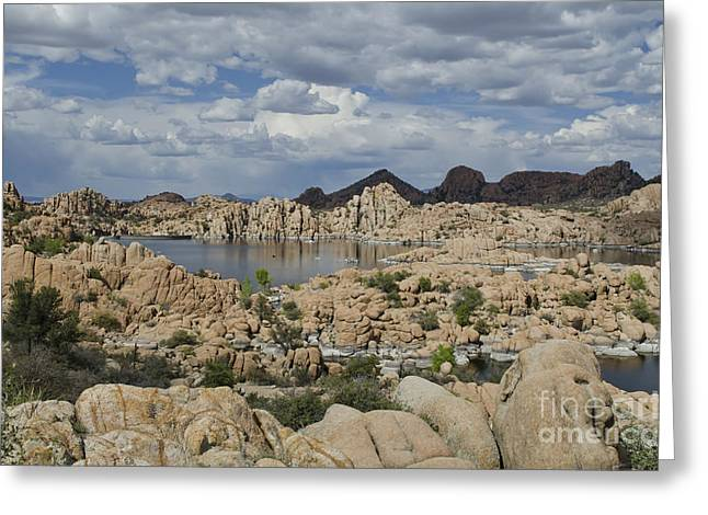 Watson Lake Arizona Greeting Card