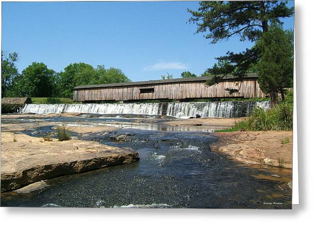 Watson Mill Covered Bridge 010 Greeting Card