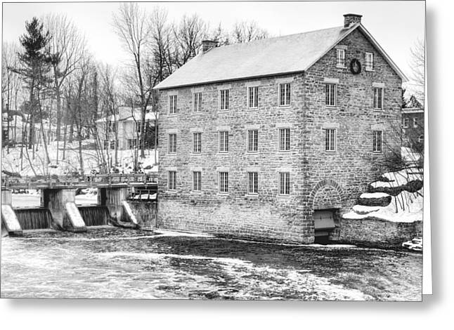 Watsons Mill In Manotick Ontario Greeting Card by Rob Huntley