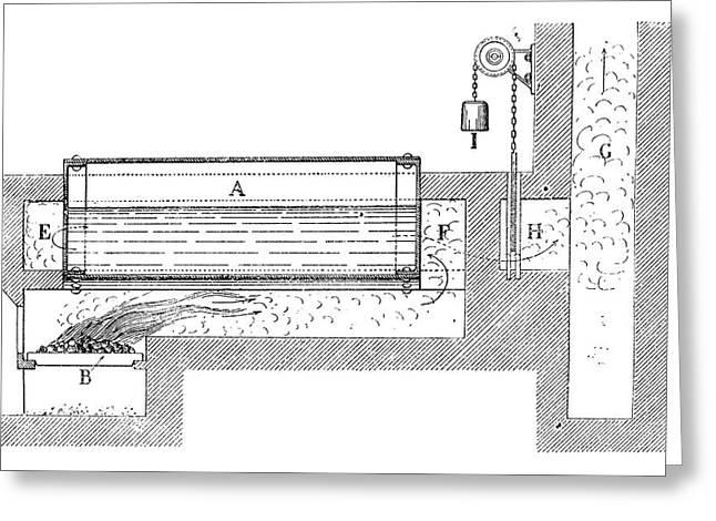 Watt Boiler Greeting Card