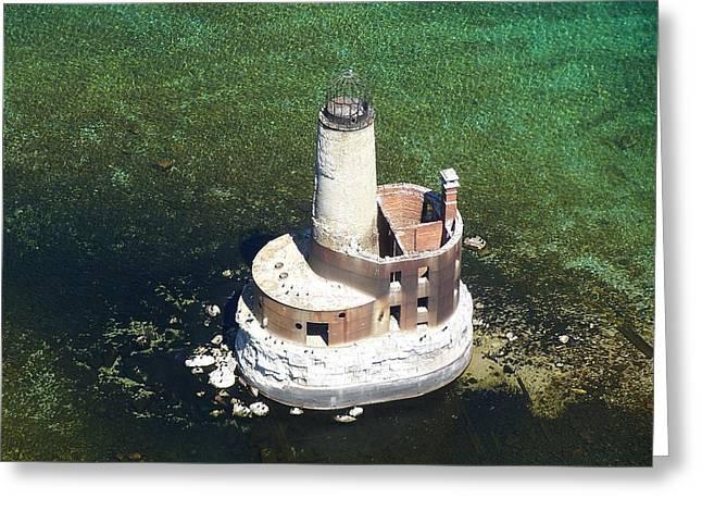 Waugoshance Lighthouse Greeting Card