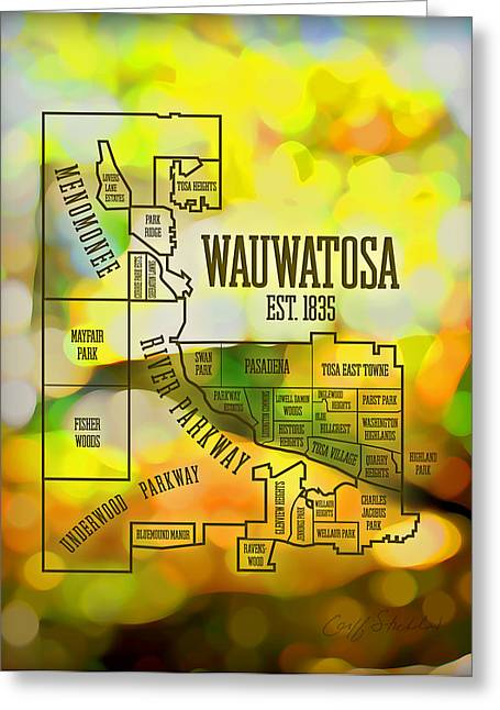 Wauwatosa Neighborhood Greeting Card