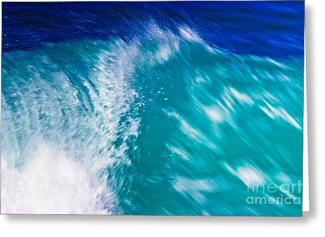 Wave 01 Greeting Card
