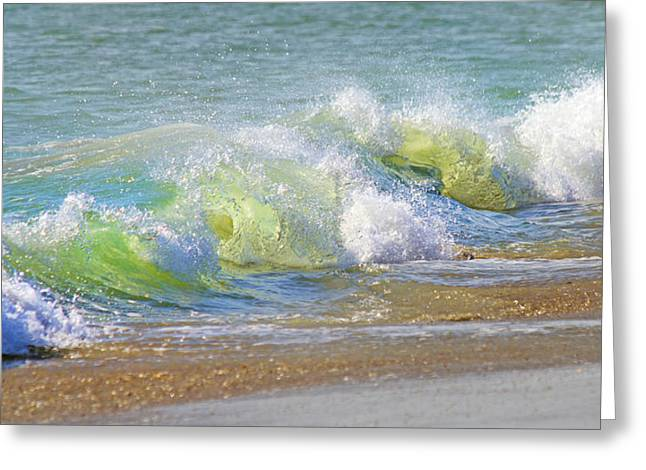 Wave  Greeting Card by Betsy Knapp
