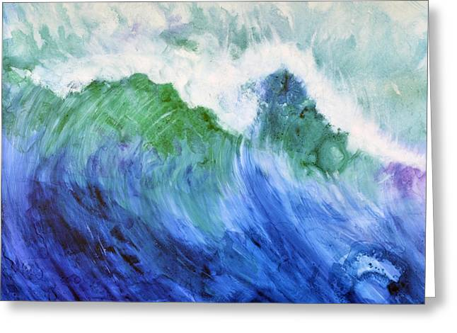 Wave Dream Greeting Card