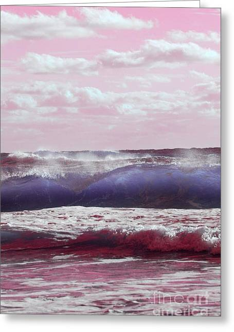 Wave Formation 2 Greeting Card