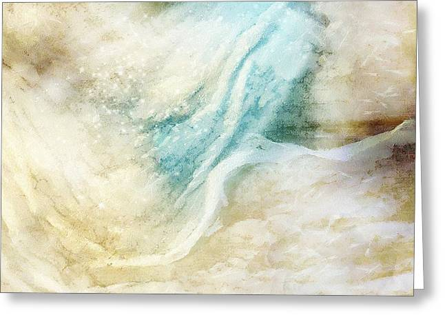 Wave Greeting Card by Gun Legler