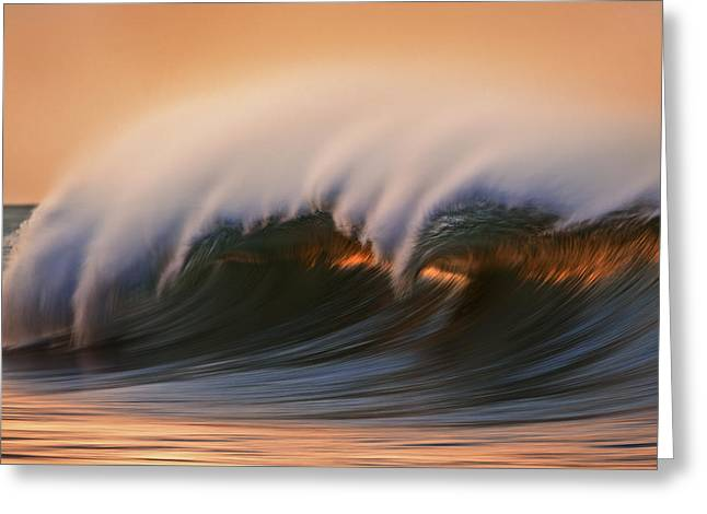 Wave  Mg6894a Greeting Card