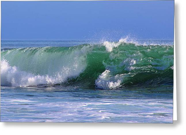 Wave Study 97 Greeting Card