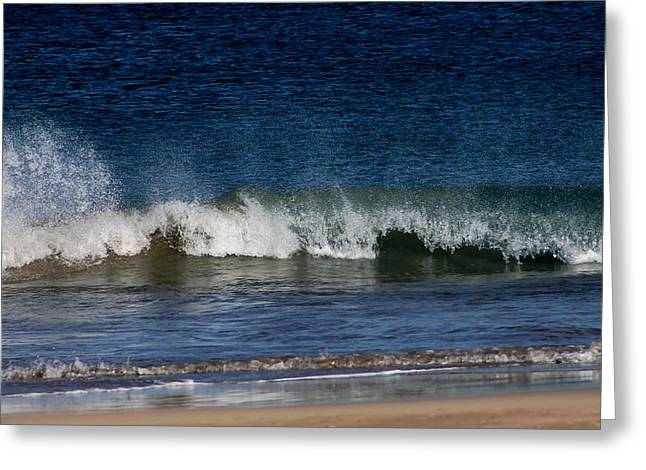 Waves And Surf Greeting Card